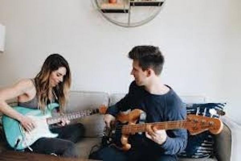 Aula de Guitarra com Prática Orçamento Alto do Pari - Primeira Aula de Guitarra