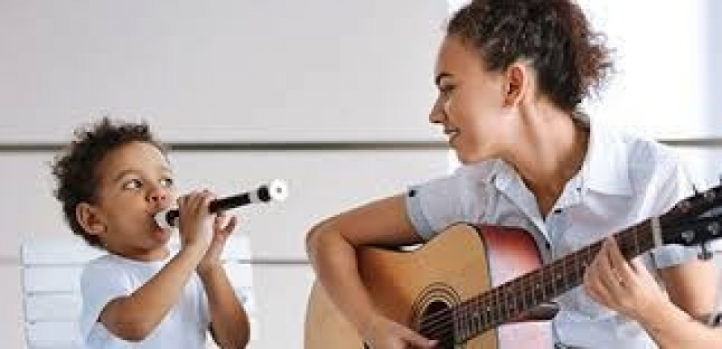 Aula de Musicalização Infantil Valor Lapa - Curso de Musicalização Infantil