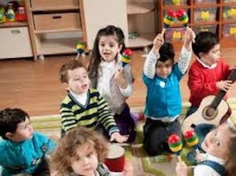 Aula de Musicalização para Educação Infantil Valor Bixiga - Aula de Musicalização