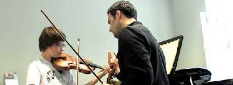Aula de Violino Particular para Fazer Jardim Paulistano - Aulas de Violino
