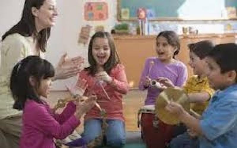 Aula Musicalização Infantil Valor Santo Amaro - Aula de Musicalização para Educação Infantil