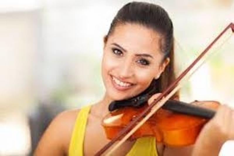 Escola Que Faz Primeira Aula de Violino Glicério - Aulas de Violino