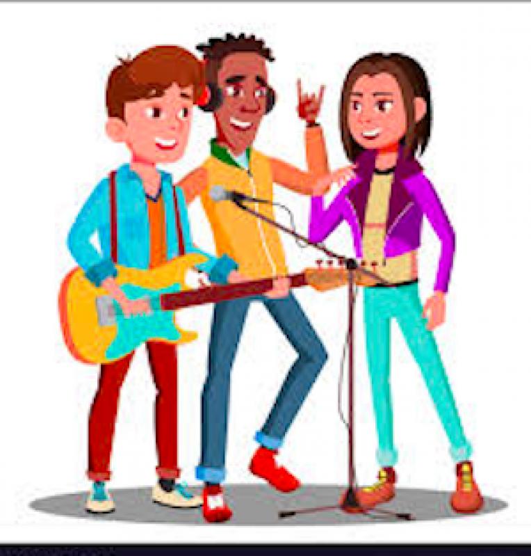 Escolas de Musica Rock Parque Maria Domitila - Escola de Musica Rock