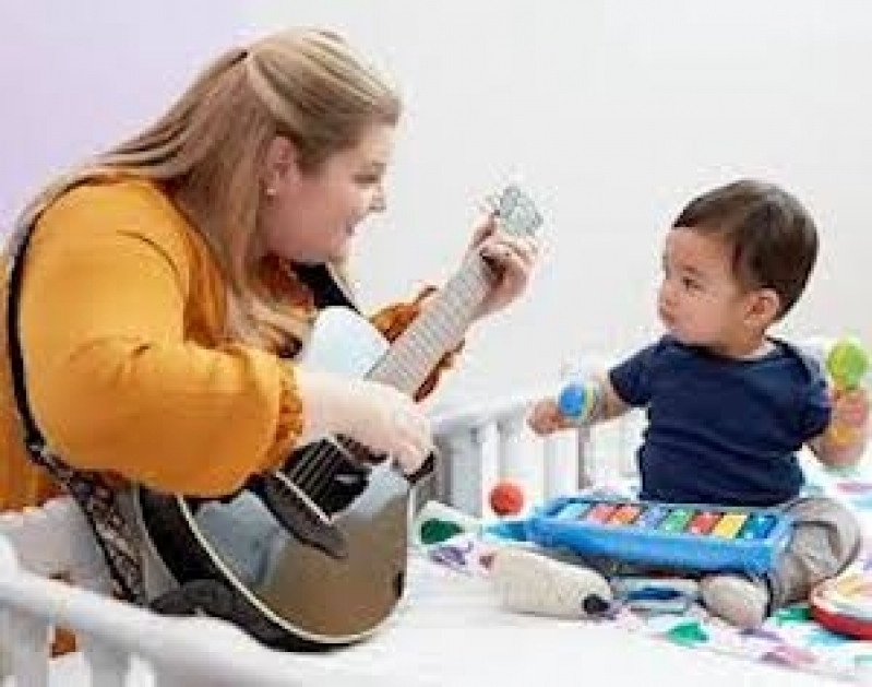 Musicalização para Crianças Valor São Domingos - Aula de Musicalização