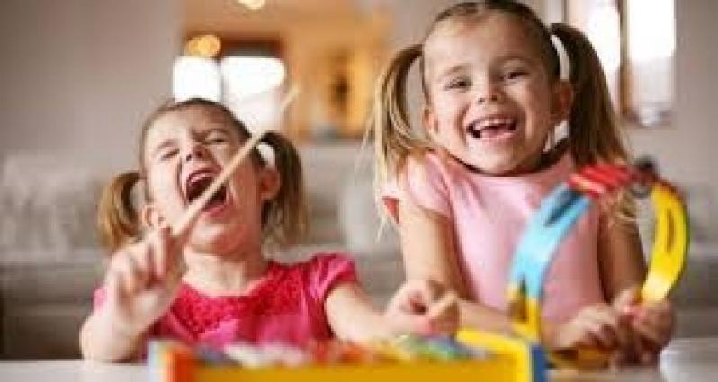 Musicalizações Infantis Chácara Inglesa - Primeira Aula de Musicalização Infantil