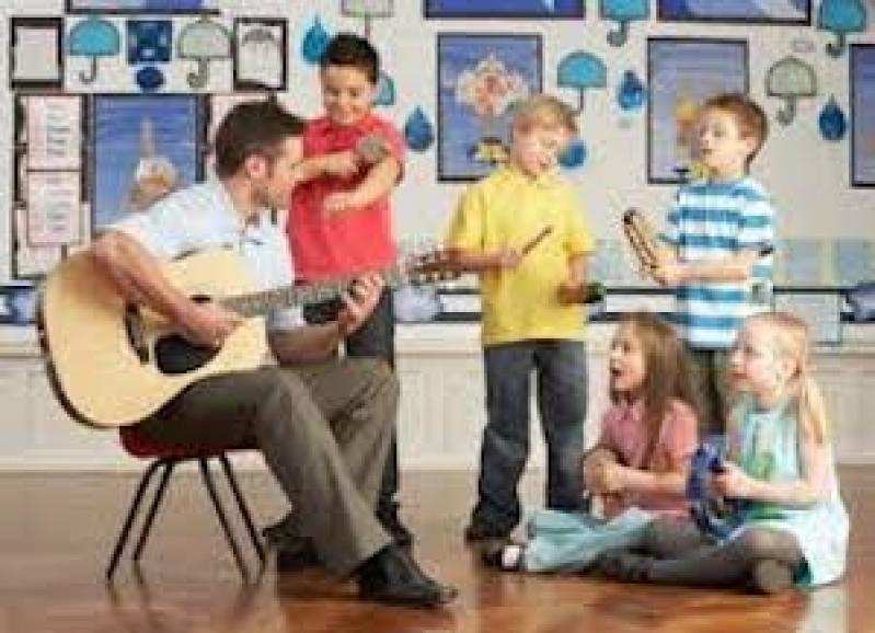 Onde Faz Aula de Musicalização Infantil Brooklin - Aula de Musicalização
