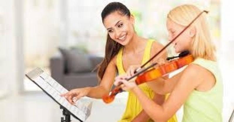 Onde Faz Primeira Aula de Violino Roosevelt (CBTU) - Aulas de Violino