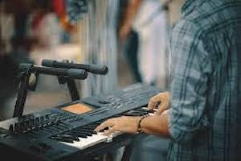 Onde Fazer Aula de Teclado para Iniciantes Santana de Parnaíba - Aula de Teclado Gospel para Iniciante