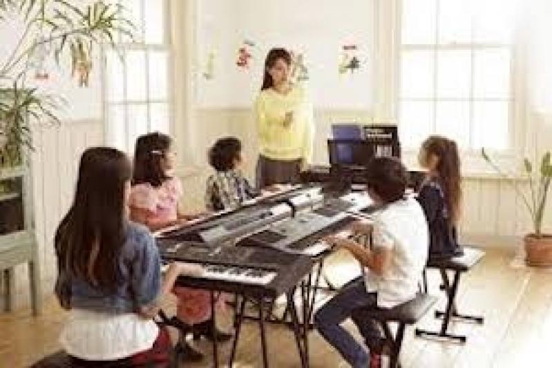 Onde Fazer Aula de Teclado Particular Santa Cecília - Aula de Teclado Musical