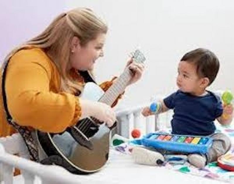 Onde Tem Curso Musicalização Infantil Interlagos - Aula de Musicalização