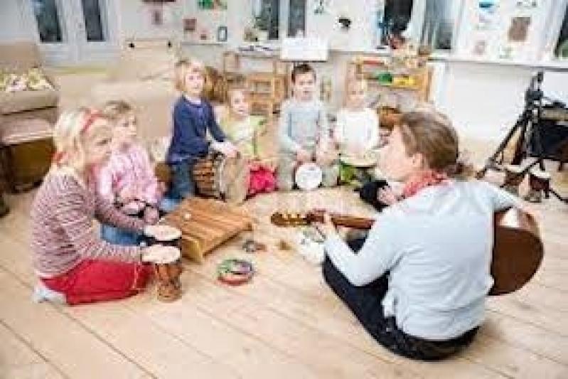 Primeira Aula de Musicalização Infantil Valor Morumbi - Aula de Musicalização