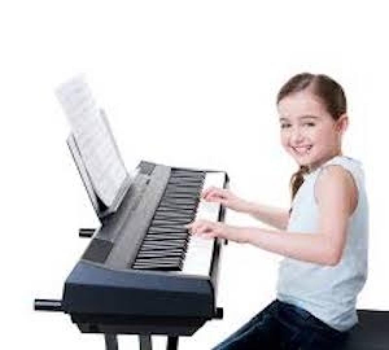 Primeiras Aulas de Teclado Bixiga - Aula de Teclado Musical