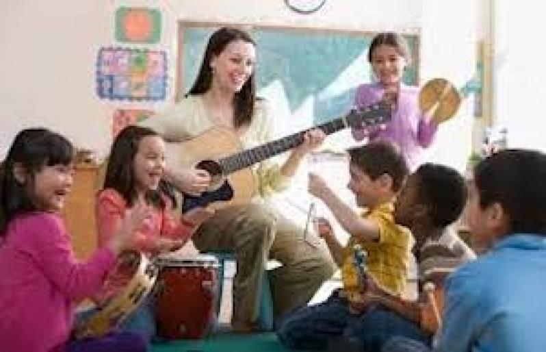 Professoras de Musicalizações Infantis Parque Maria Domitila - Aula de Musicalização Infantil