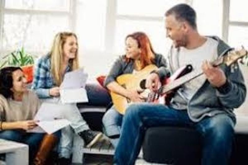 Quanto Custa Aula de Guitarra Jazz Pompéia - Aula de Guitarra Improvisação