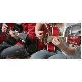 aula básica de violão valor Higienópolis
