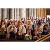 aula de canto coral melhor preço Glicério
