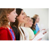 aula de canto gospel Aclimação
