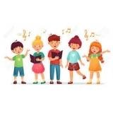aula de canto para crianças Glicério