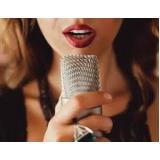 aula de canto para iniciantes melhor preço Aclimação