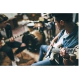 aula de guitarra com prática Butantã