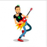 aula de guitarra improvisação Jockey Clube