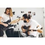 aula de guitarra para iniciantes Barra Funda