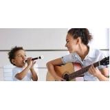 aula de musicalização infantil valor Lapa