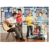 aula de musicalização valor Sé
