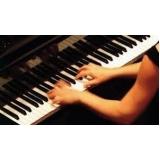 aula de piano avançado orçar Glicério