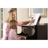 aula de piano para crianças orçar Parque Dom Pedro