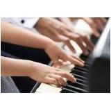 aula de piano particular Vila Romana