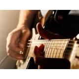 aula de solo de guitarra orçamento Sumaré