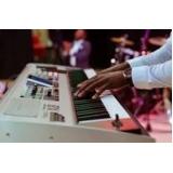 aula de teclado gospel para iniciante preços Anália Franco