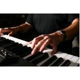 aula de teclado iniciante Aclimação