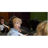 aula de teclado musical preços Brooklin