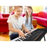 aula de teclado para crianças preços Santo Amaro