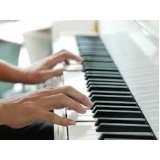 aula de teclado para iniciantes gospel preços Vila Buarque