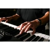 aula de teclado para iniciantes Cambuci