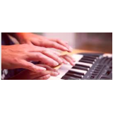 aula de teclado teórica Chácara Inglesa