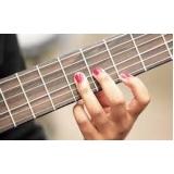 aula de violão clássico