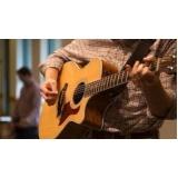 aula de violão iniciante valor Anália Franco