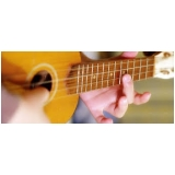 aula de violão para crianças valor Água Branca