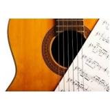 aula de violão teórica Higienópolis