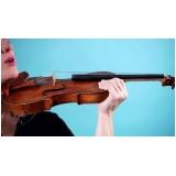 aula de violino iniciante