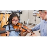 aula de violino para crianças