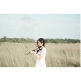 aula de violino profissional