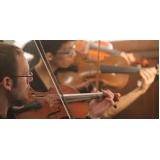 aula de violino coletiva para fazer Santa Cruz