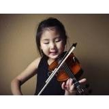 aula de violino para crianças para fazer Campo Grande