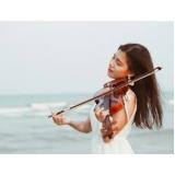 aula de violino para iniciantes Chora Menino