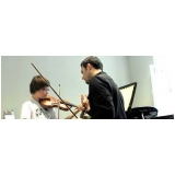 aula de violino particular para fazer Anália Franco